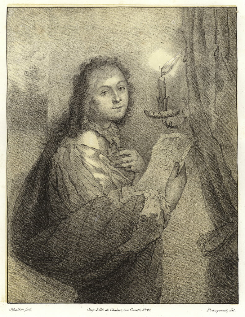 Godfried Schalcken, डच कलाकार द्वारा गॉडफ्रीड स्कैलकेन या स्कैलकेन